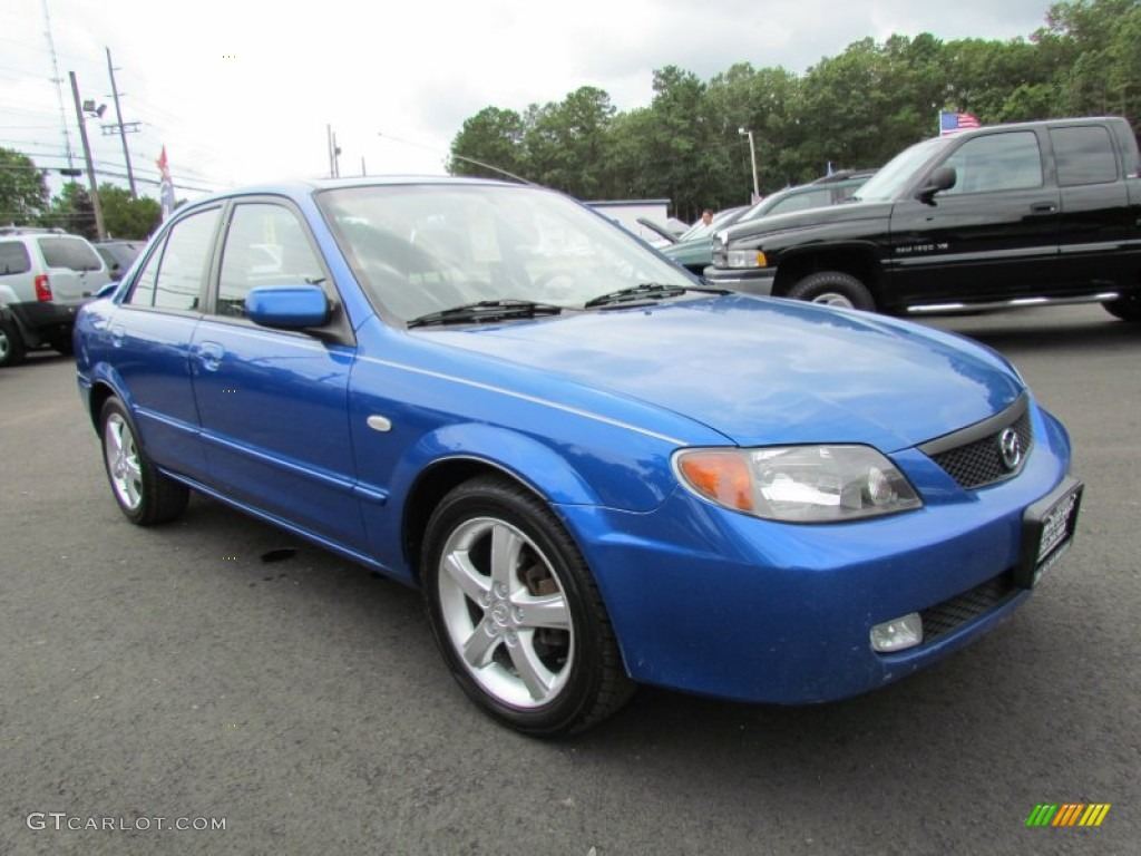 laser blue mica 2003 mazda protege dx exterior photo. Black Bedroom Furniture Sets. Home Design Ideas