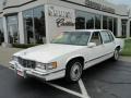 White 1992 Cadillac DeVille Sedan