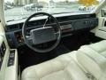 1992 Cadillac DeVille Ivory Interior Prime Interior Photo