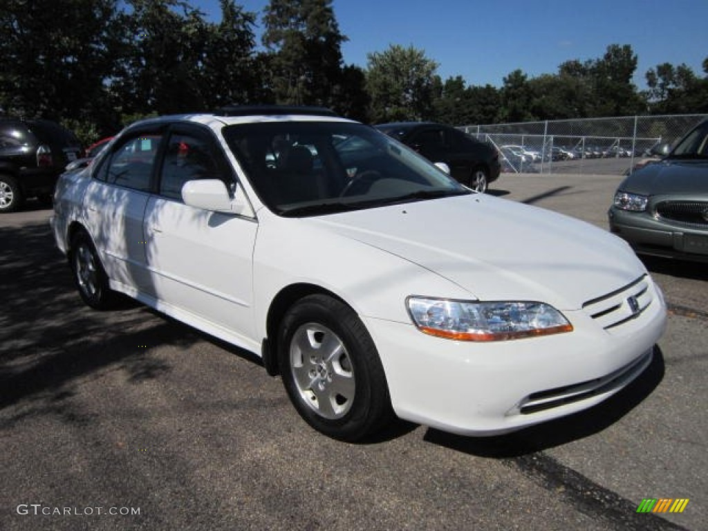 2002 Taffeta White Honda Accord Ex V6 Sedan 69094497