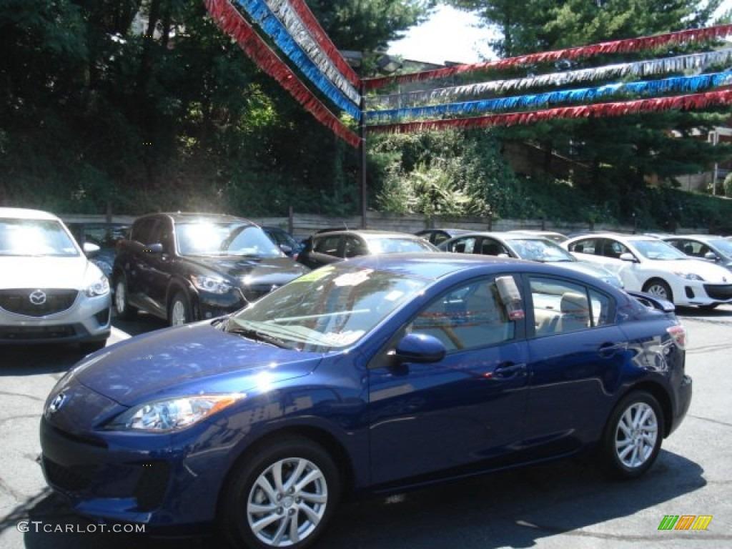 2012 Indigo Lights Mica Mazda Mazda3 I Touring 4 Door 69093931 Car Color Galleries