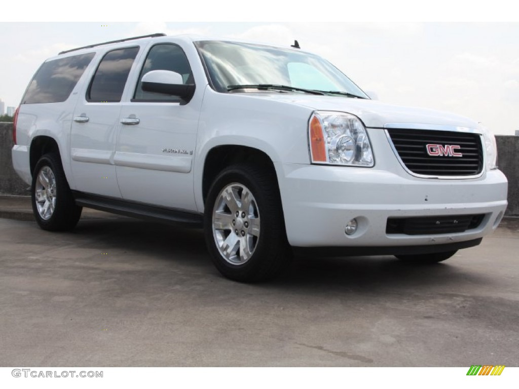 2008 summit white gmc yukon xl slt 69094425 gtcarlot. Black Bedroom Furniture Sets. Home Design Ideas