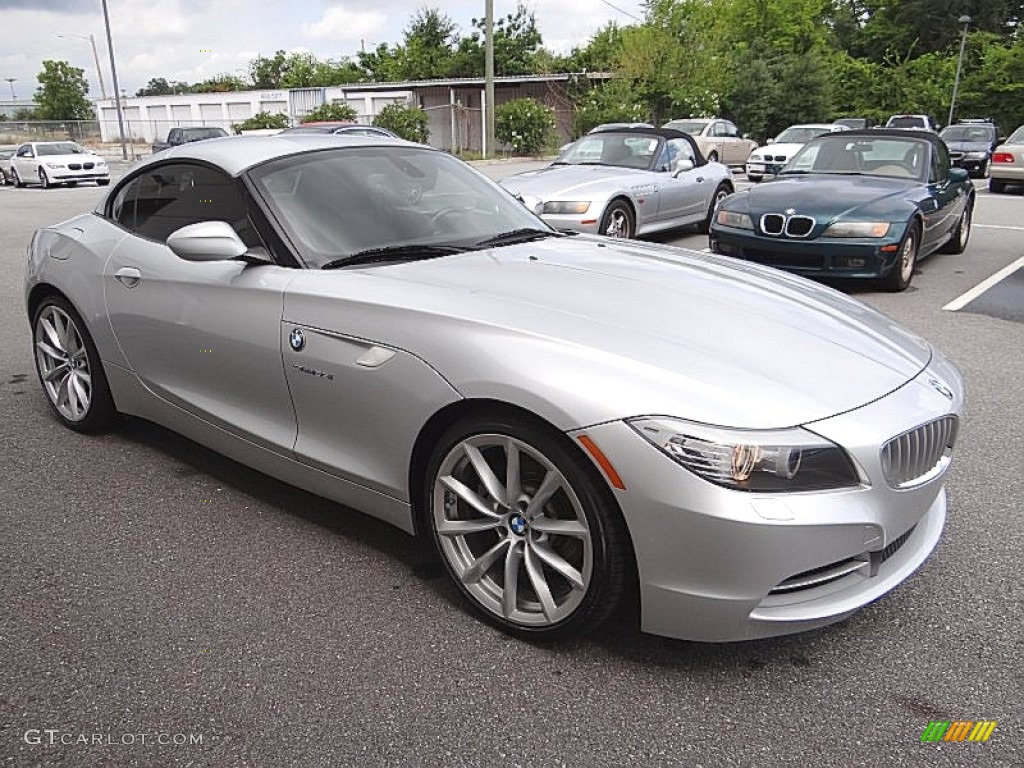 2010 Bmw Z4 Silver 200 Interior And Exterior Images