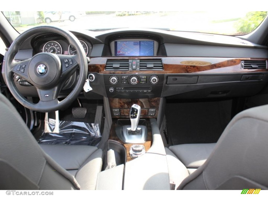 2010 bmw 5 series 528i xdrive sedan black dashboard photo 69114890