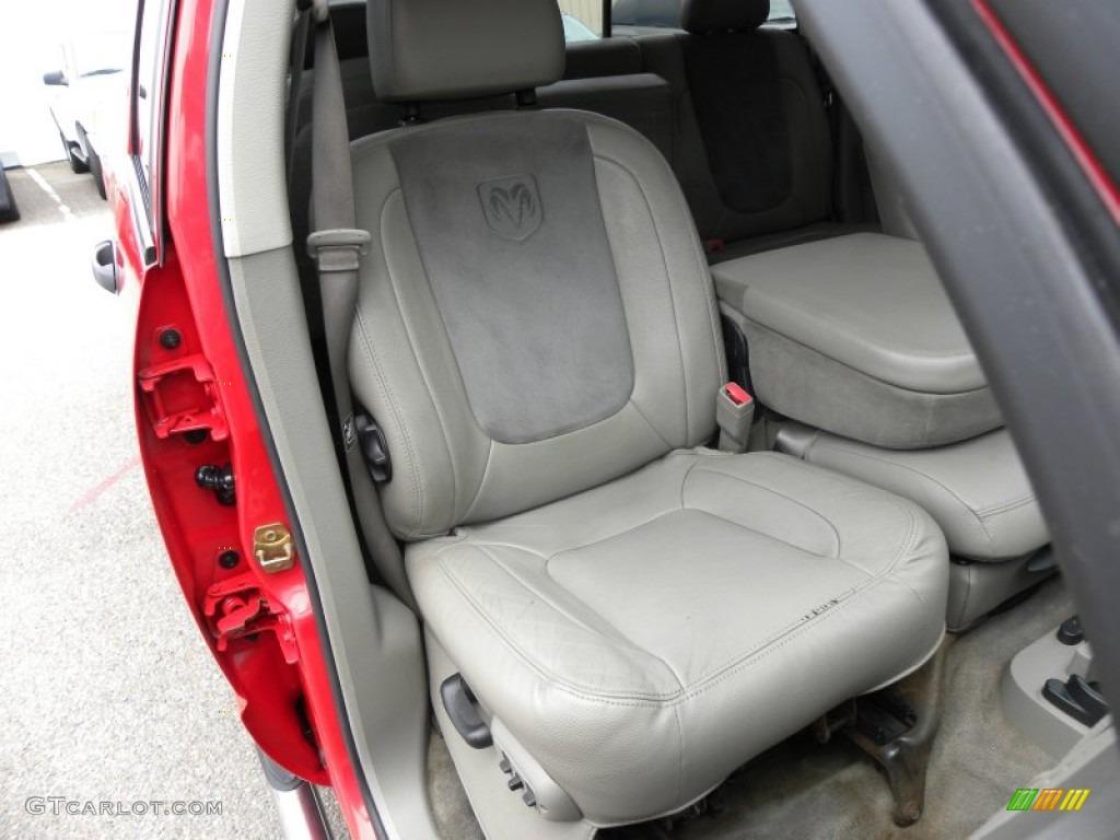 2005 Dodge Ram 2500 Laramie Quad Cab Front Seat Photo