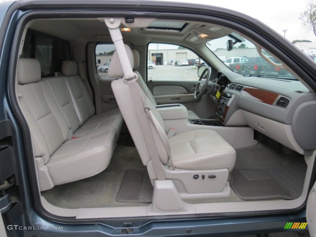 Light Titanium Interior 2009 Chevrolet Silverado 1500 Ltz