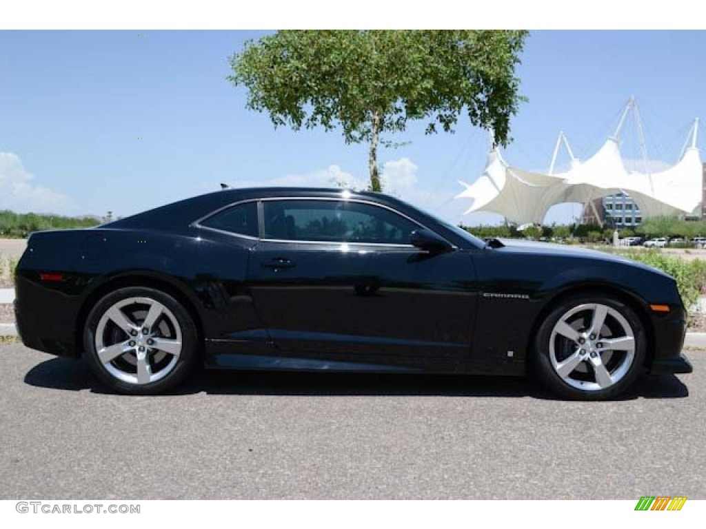 Black 2010 Chevrolet Camaro Ss Rs Coupe Exterior Photo