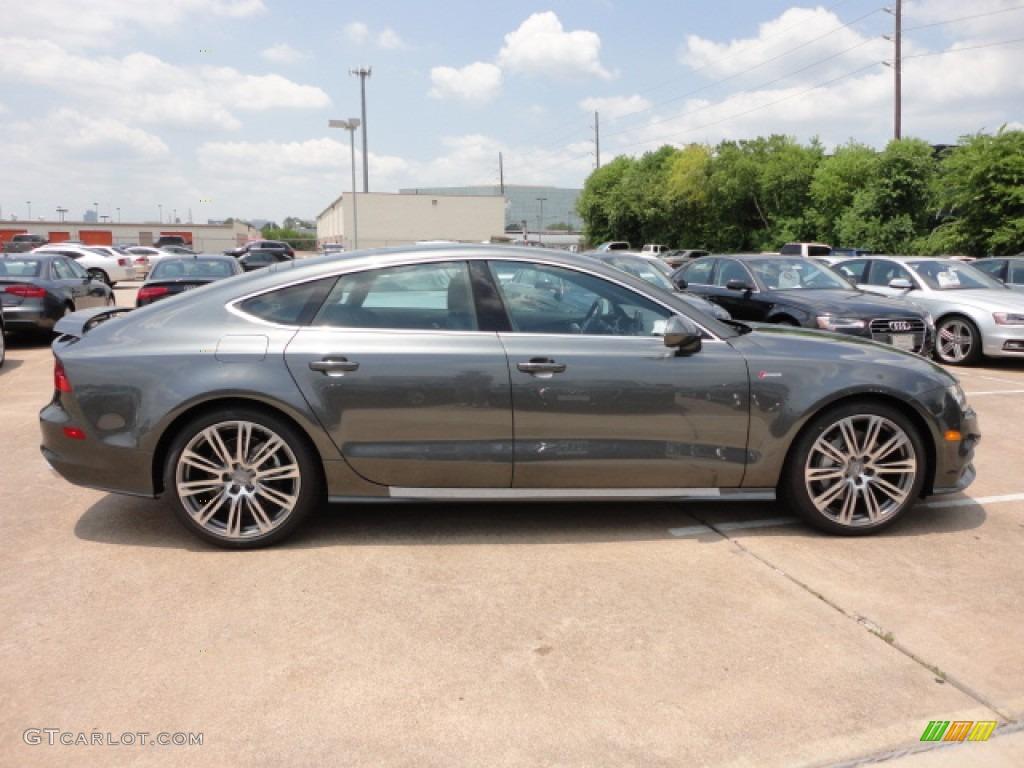 Daytona Gray Pearl Effect 2013 Audi A7 3 0t Quattro