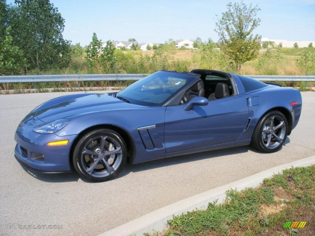 Supersonic blue metallic 2012 chevrolet corvette grand sport coupe exterior photo 69123590