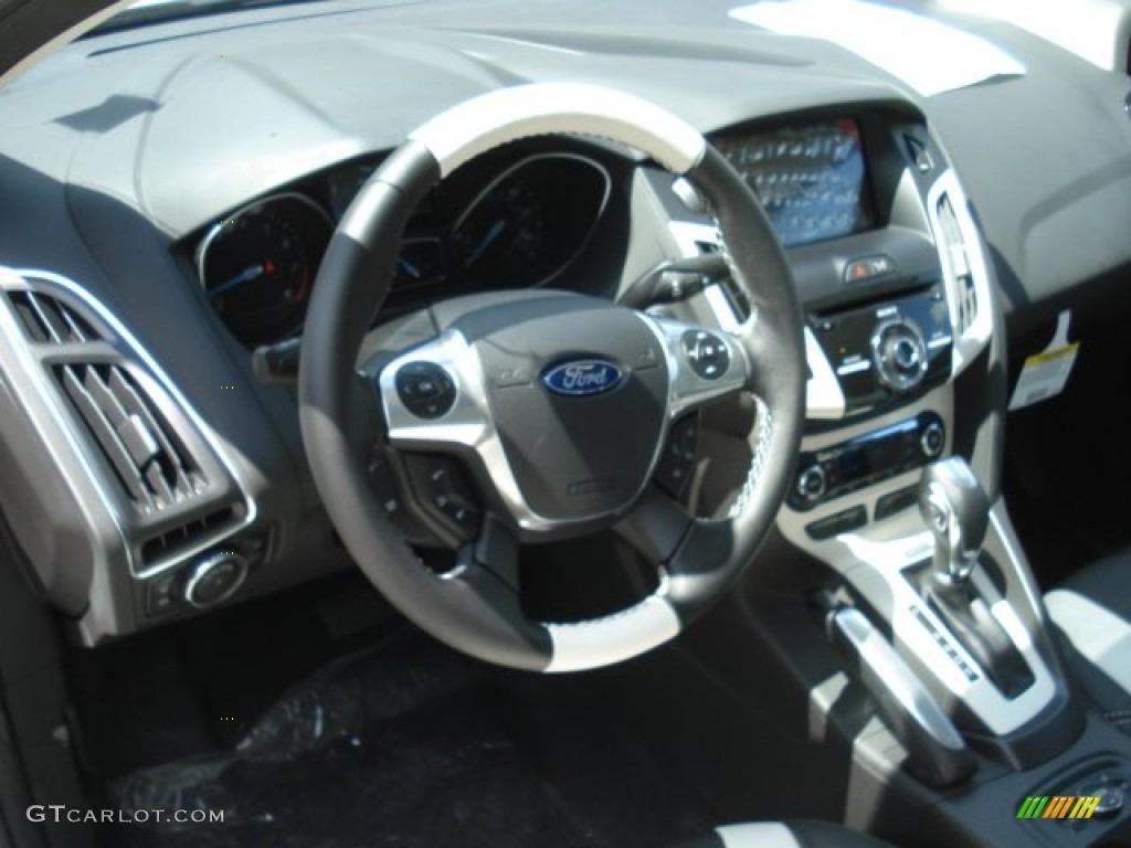 2013 focus titanium sedan white platinum arctic white photo 10