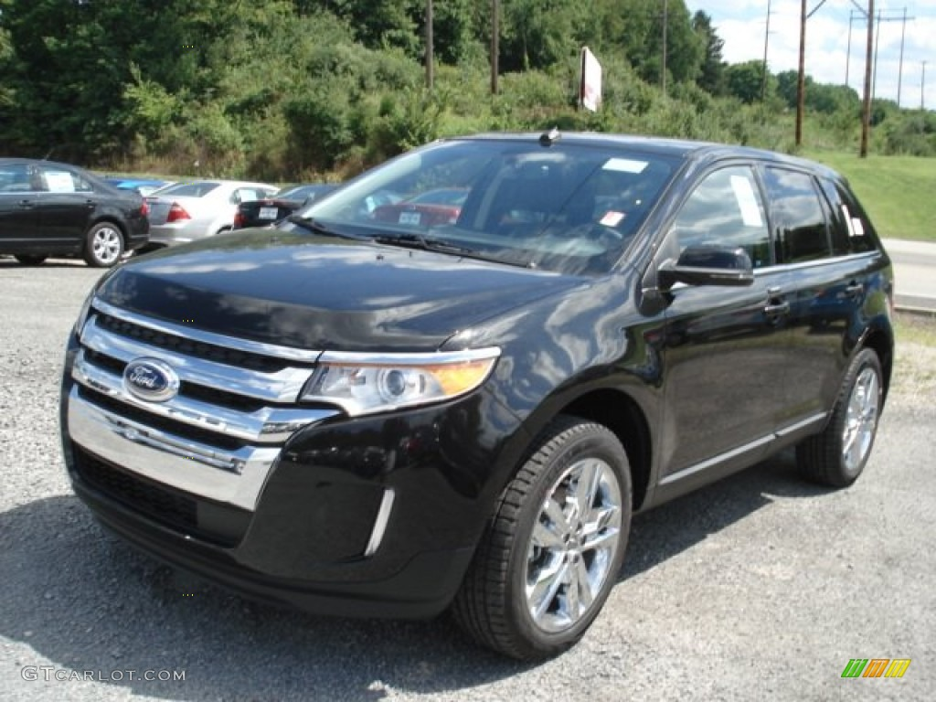 tuxedo black metallic 2013 ford edge limited awd exterior photo 69125291. Black Bedroom Furniture Sets. Home Design Ideas