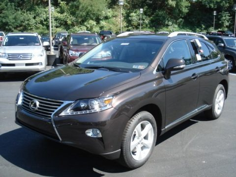 2013 Lexus RX 350 AWD Data, Info and Specs