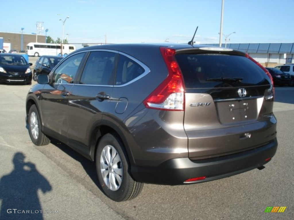 Urban Titanium Metallic 2012 Honda Cr V Ex 4wd Exterior