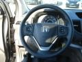 2012 Honda CR-V Beige Interior Steering Wheel Photo