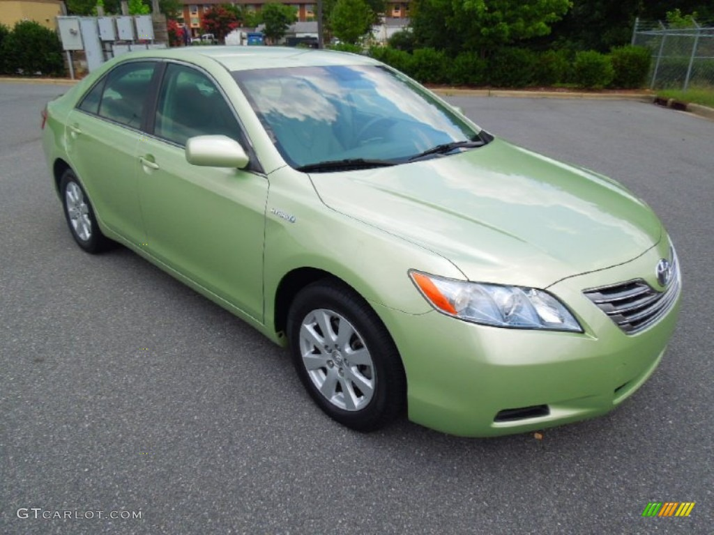 2007 toyota camry hybrid green 200 interior and. Black Bedroom Furniture Sets. Home Design Ideas