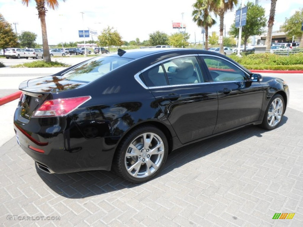 crystal black pearl 2012 acura tl 3 7 sh awd advance exterior photo 69136872. Black Bedroom Furniture Sets. Home Design Ideas