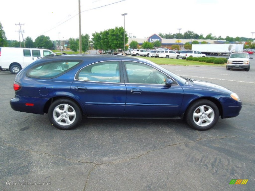 Medium royal blue metallic 2001 ford taurus se wagon exterior photo 69137915 gtcarlot com