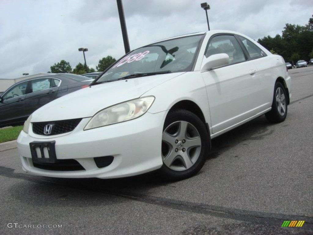 2004 Taffeta White Honda Civic Ex Coupe 69094002 Car Color Galleries