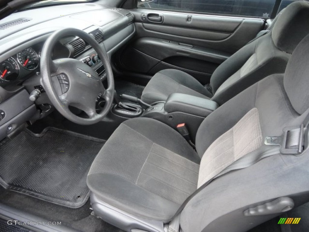 2006 Chrysler Sebring Convertible Interior Photos