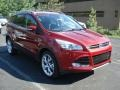 Ruby Red Metallic 2013 Ford Escape Titanium 2.0L EcoBoost 4WD Exterior