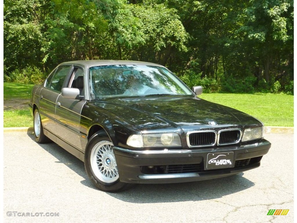 1995 cashmere beige metallic bmw 7 series 740il sedan. Black Bedroom Furniture Sets. Home Design Ideas