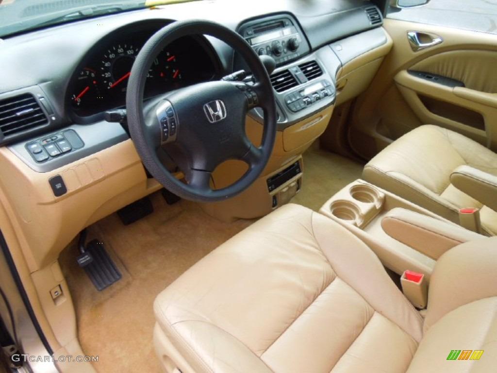 Ivory Interior 2005 Honda Odyssey EX L Photo #69154819