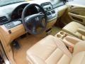 Ivory 2005 Honda Odyssey Interiors