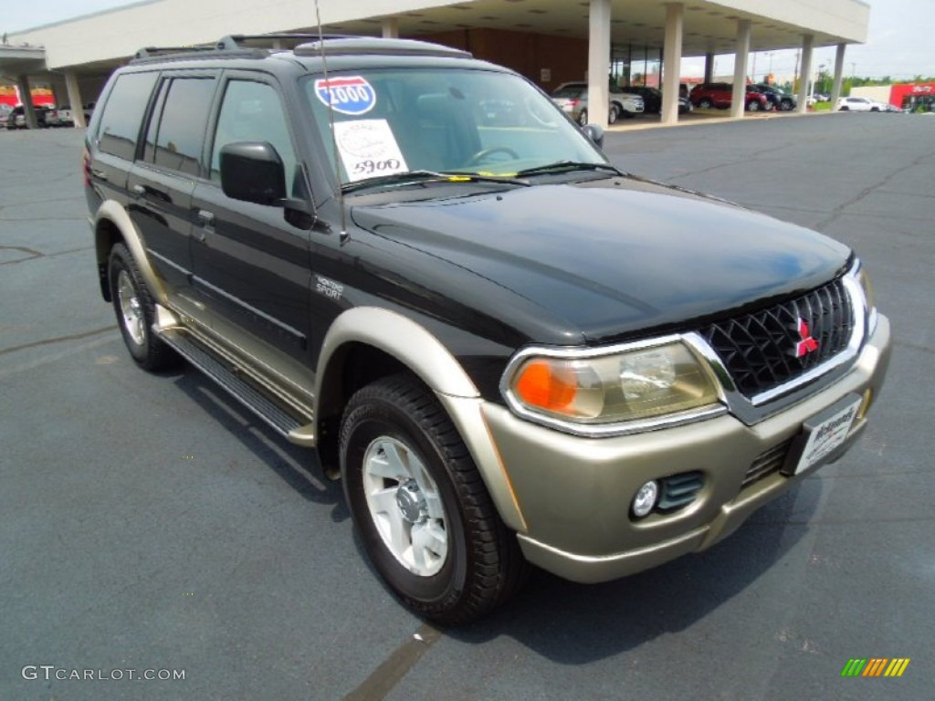 2000 Solano Black Mitsubishi Montero Sport Xls 4x4 69150292 Gtcarlot Com Car Color Galleries