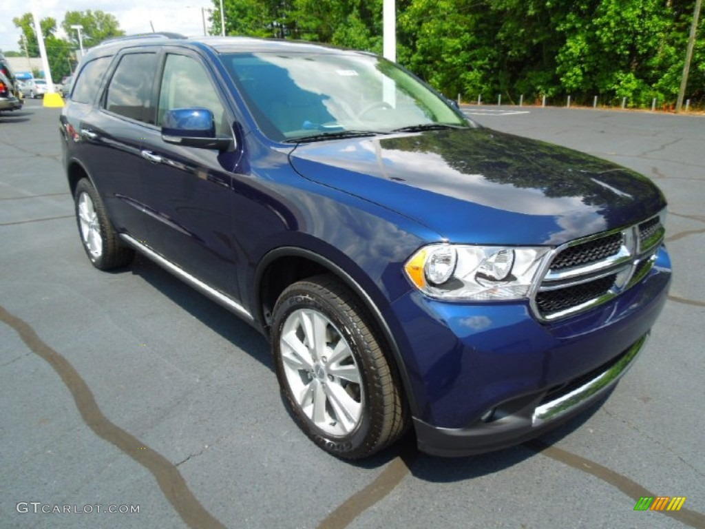 2013 True Blue Pearl Dodge Durango Crew 69150286 Gtcarlot Com Car Color Galleries