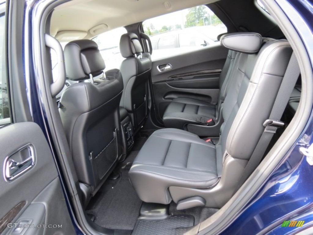 black interior 2013 dodge durango crew photo 69160026. Black Bedroom Furniture Sets. Home Design Ideas