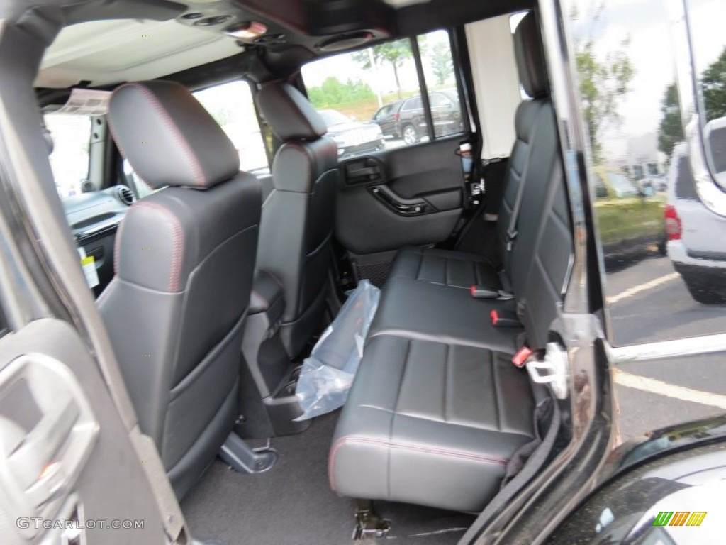Altitude Edition Black Radar Red Stitch Interior 2012 Jeep Wrangler Unlimited Altitude 4x4 Photo 69162259 Gtcarlot Com