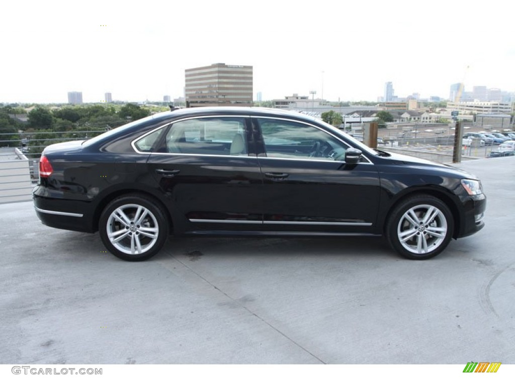 black 2013 volkswagen passat v6 sel exterior photo 69166999. Black Bedroom Furniture Sets. Home Design Ideas