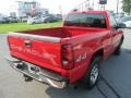 2005 Victory Red Chevrolet Silverado 1500 Regular Cab 4x4  photo #5