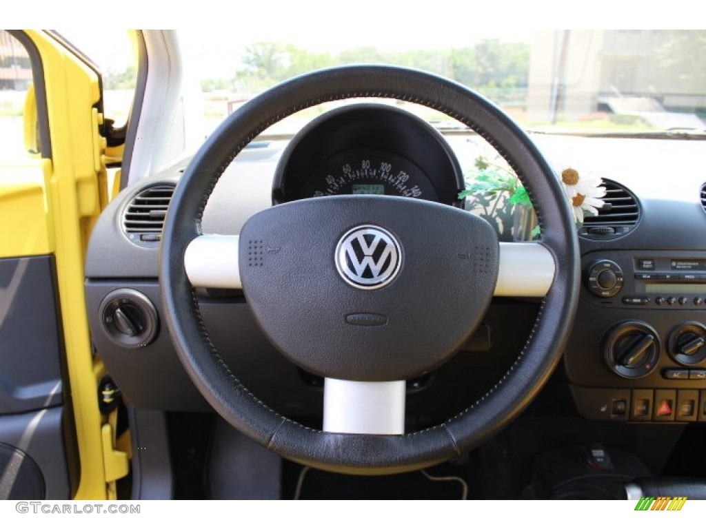 Volkswagen Beetle Yellow Interior