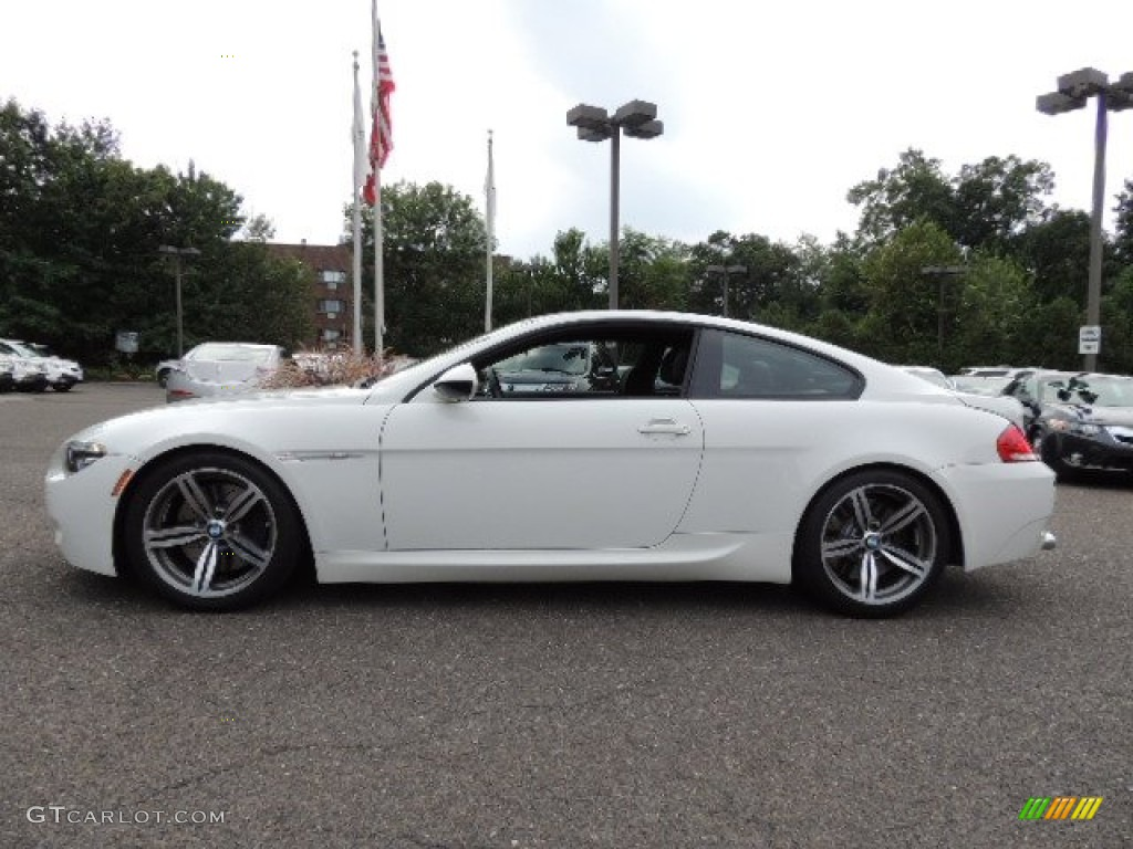 Alpine White 2009 Bmw M6 Coupe Exterior Photo 69174355