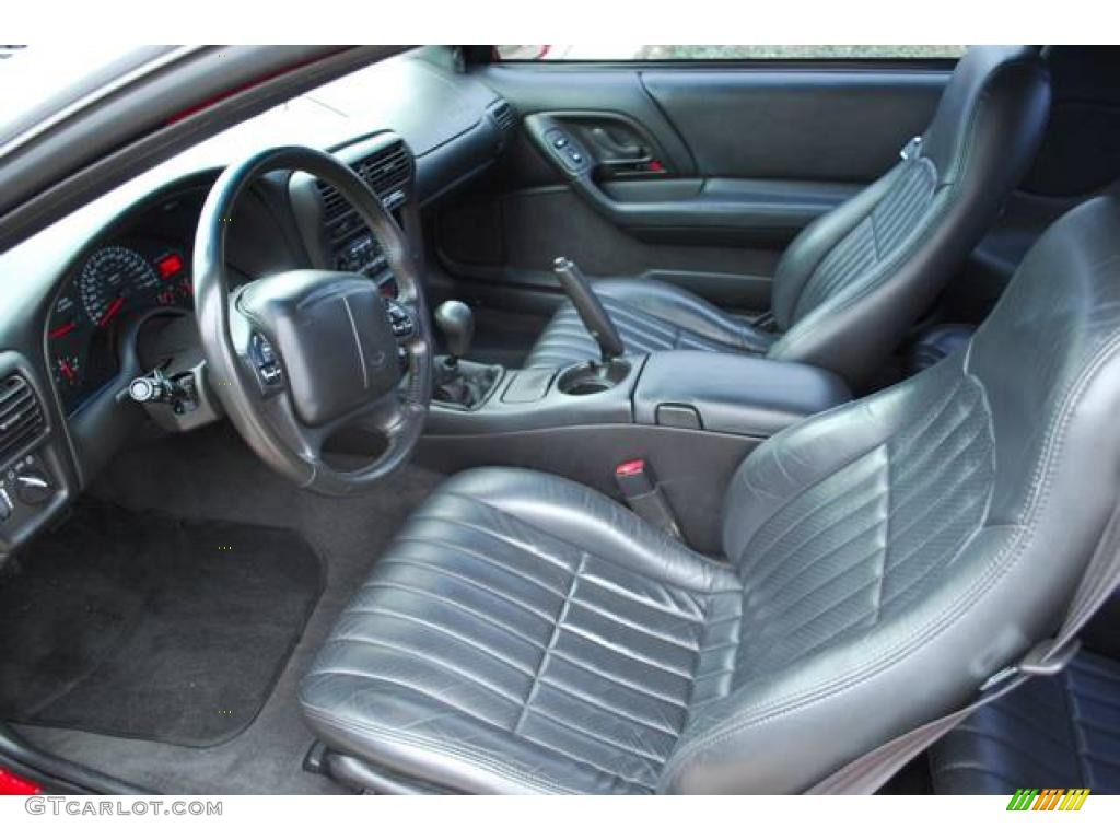 2002 chevrolet camaro z28 ss coupe interior photo 6917517