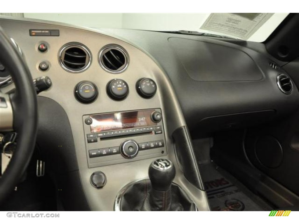 2007 Pontiac Solstice Gxp Roadster Ebony Dashboard Photo 69179122