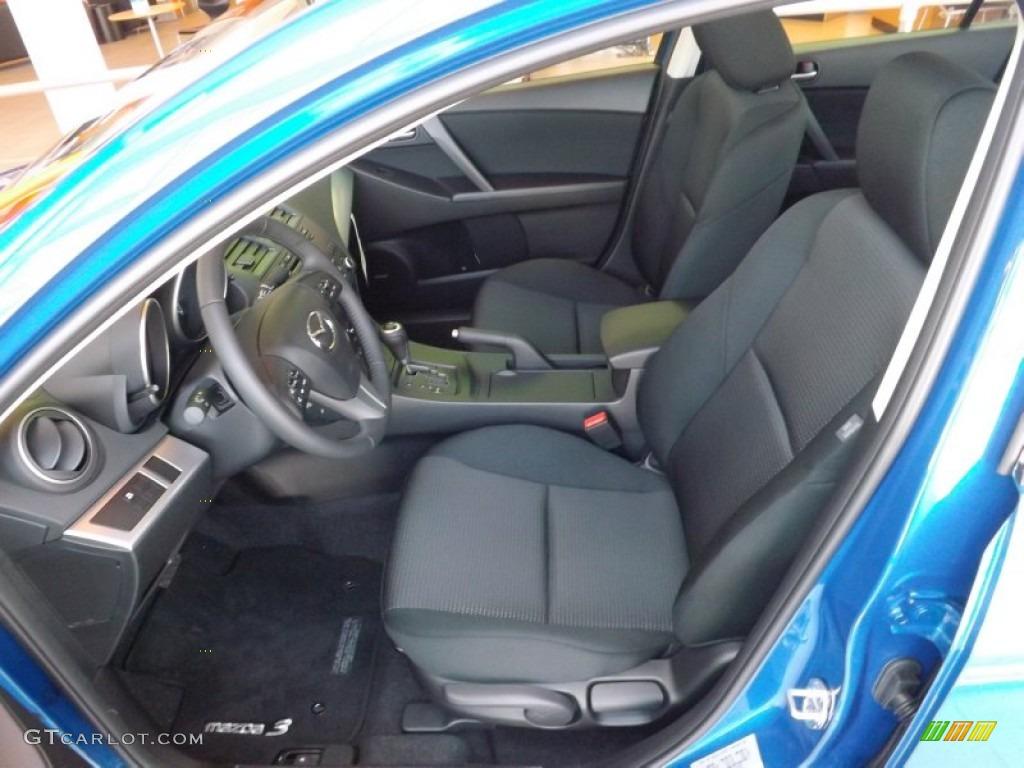 2012 Sky Blue Mica Mazda Mazda3 I Touring 4 Door 69150168 Photo 5 Car Color