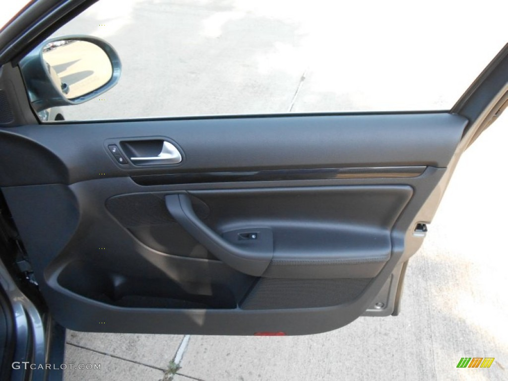2013 Volkswagen Jetta Tdi Sportwagen Titan Black Door Panel Photo 69185170