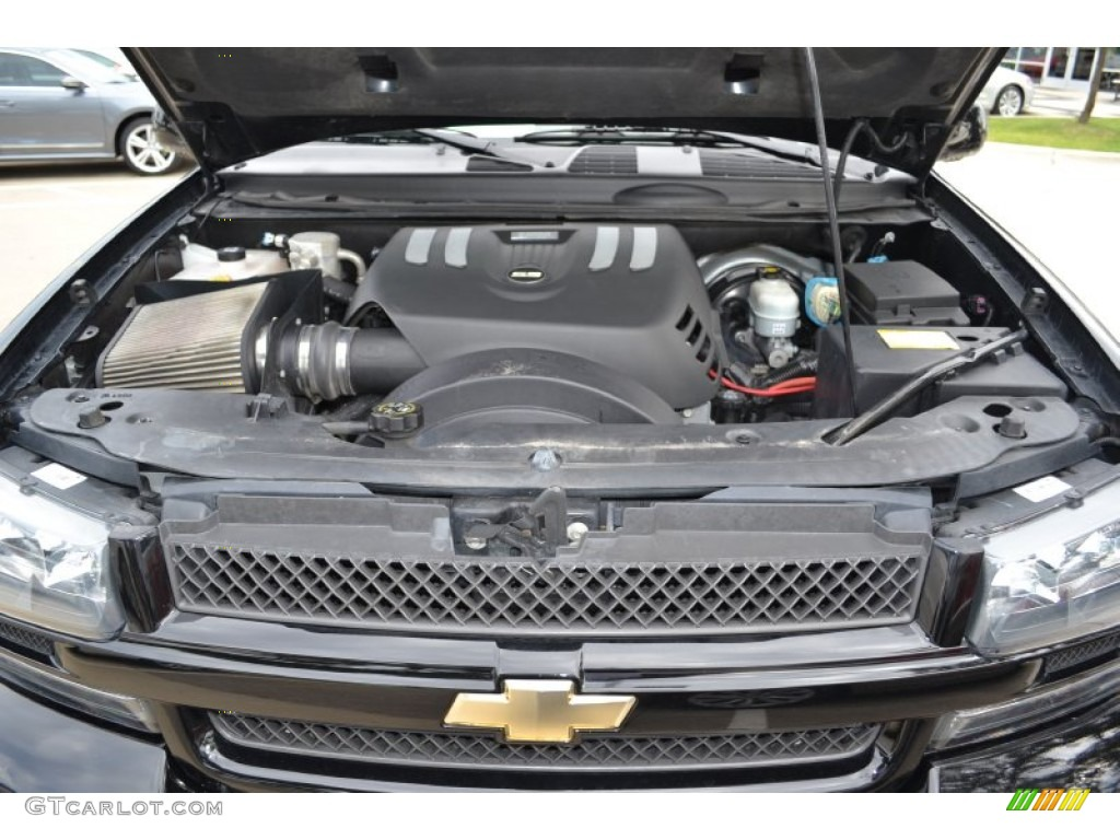 2008 chevrolet trailblazer ss engine photos