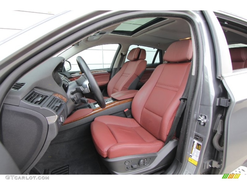 Chateau Nevada Leather Interior 2009 Bmw X6 Xdrive50i Photo