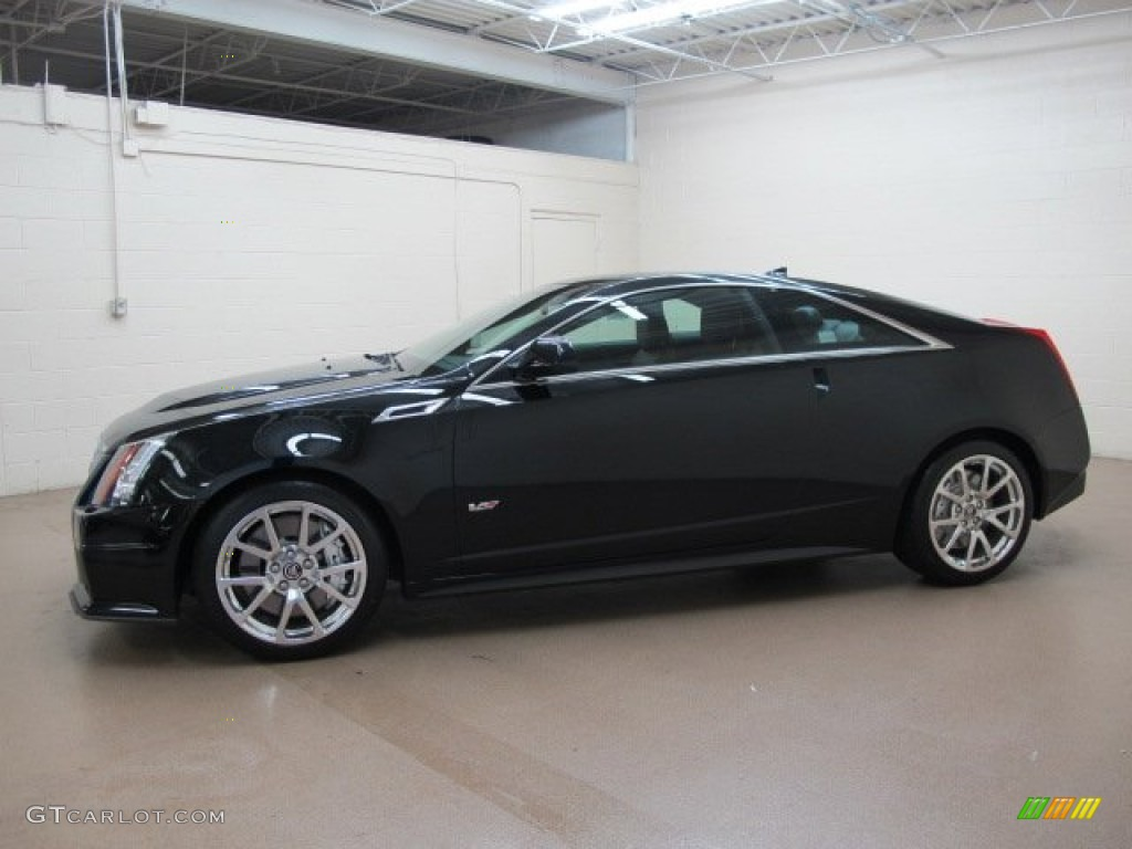 Black Raven 2012 Cadillac Cts V Coupe Exterior Photo