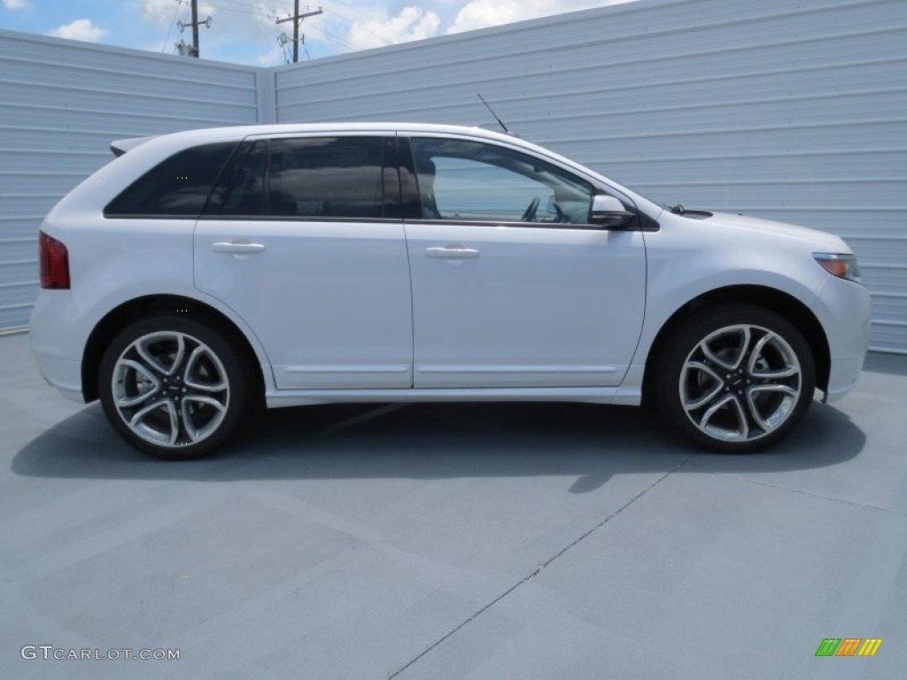 white platinum tri coat 2013 ford edge sport exterior photo 69204043. Black Bedroom Furniture Sets. Home Design Ideas