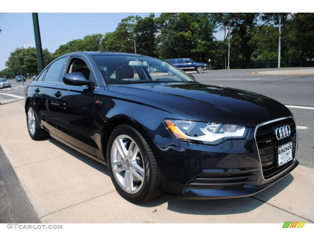 Moonlight Blue Metallic 2012 Audi A6 3.0T quattro Sedan Exterior Photo #69210823 | GTCarLot.com