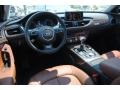 Nougat Brown 2012 Audi A6 Interiors