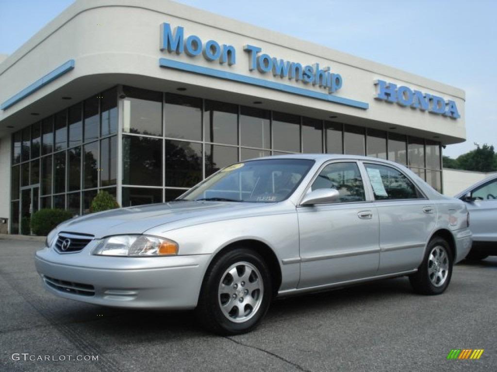 2002 silver frost mazda 626 lx #69149990 | gtcarlot - car
