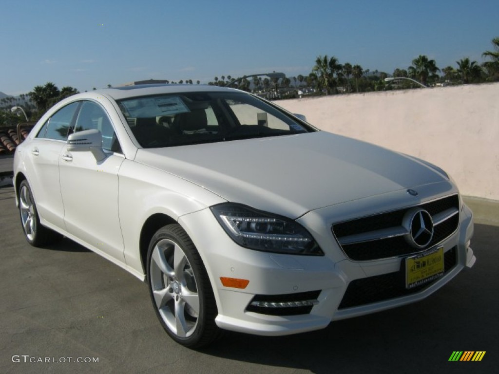 2013 diamond white metallic mercedes benz cls 550 coupe for 2013 white mercedes benz