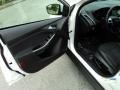 2012 White Platinum Tricoat Metallic Ford Focus Titanium Sedan  photo #17