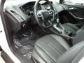 2012 White Platinum Tricoat Metallic Ford Focus Titanium Sedan  photo #18