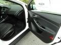 2012 White Platinum Tricoat Metallic Ford Focus Titanium Sedan  photo #20